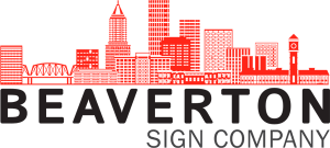 West Linn Sign Company beaverton logo generic 300x135