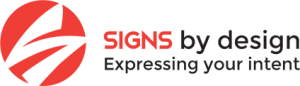 Custom Signs & Graphics signsbydesign logo 300x86